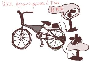 bike fan dynamo